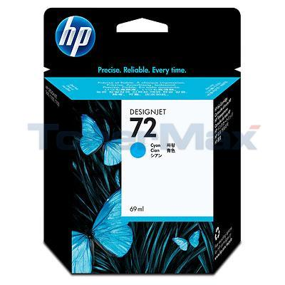 HP NO 72 INK CYAN 69ML
